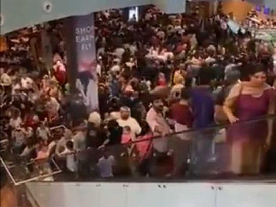 Dubai Mall on January 1, 2020