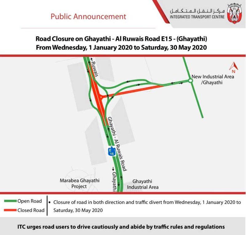 Ghayathi - Al Ruwais Road on E15