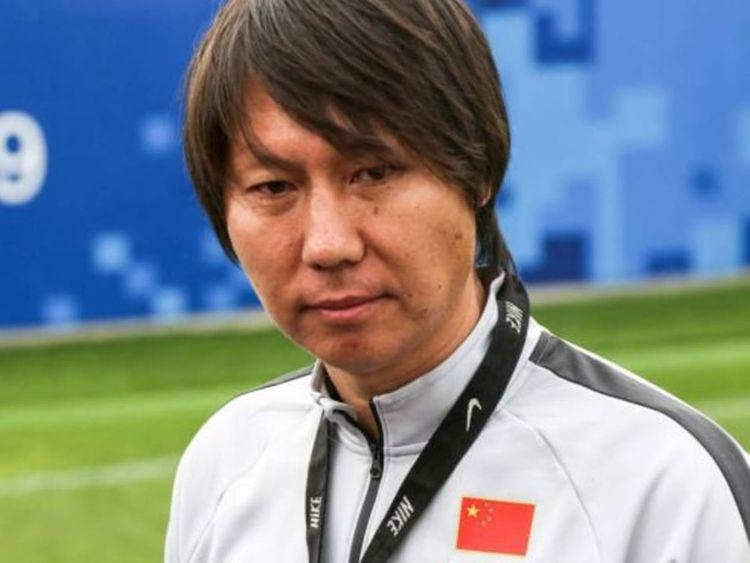 New China coach Li Tie