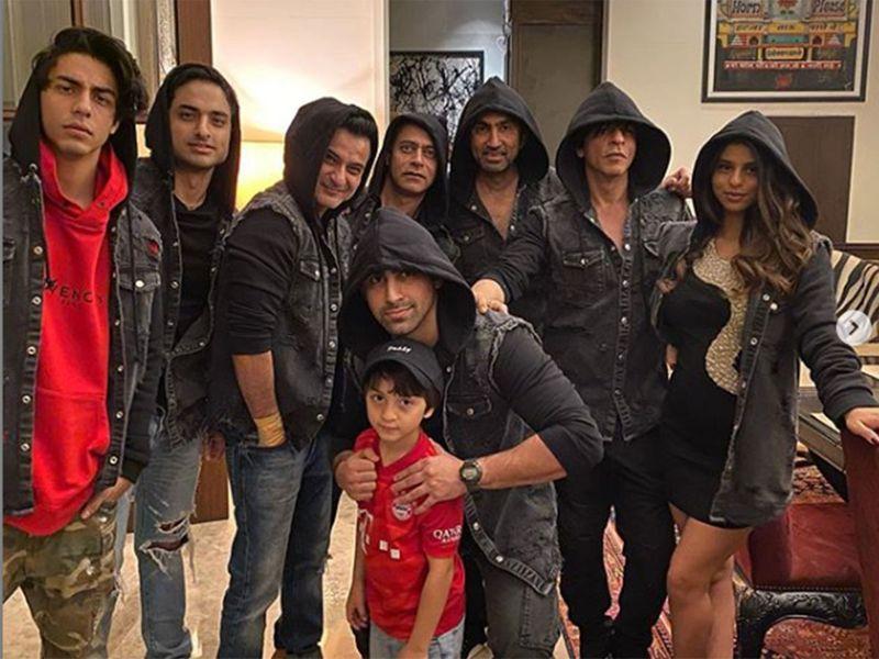 Superstar Shah Rukh Khan and his family had a grand New Year bash at Alibag 2020
