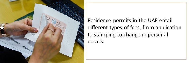 UAE residence visa fees 1