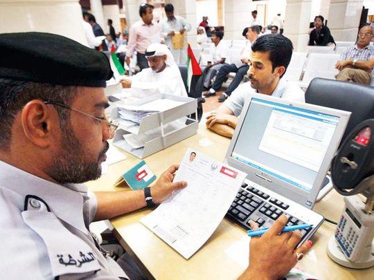 UAE visa fees