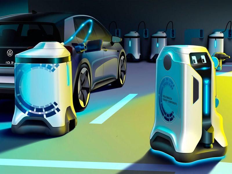 auto charging robots