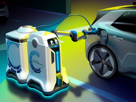 auto vw charging