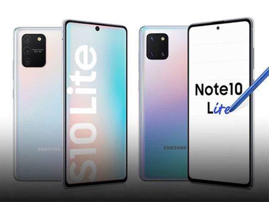 Galaxy S10 Lite, Note10