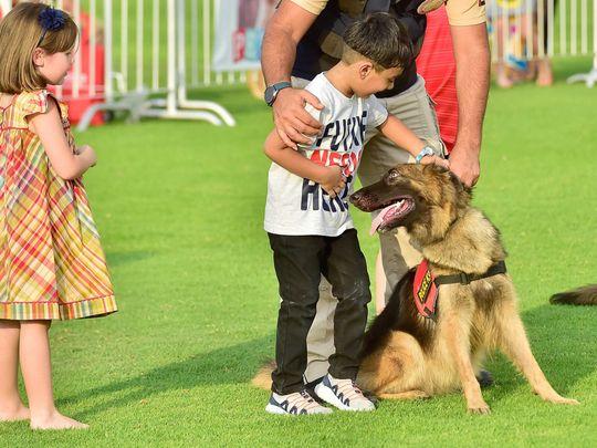 OPN Petting a dog-1578135273804