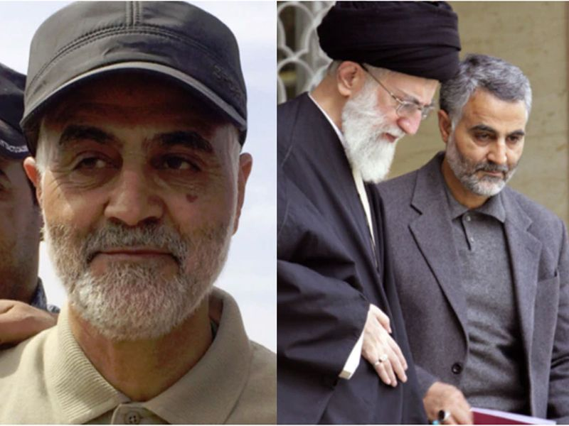 Soleimani and Khamenei
