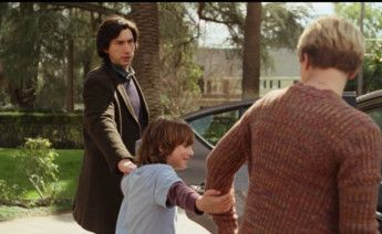 Still of Adam Driver, Azhy Robertson, and Scarlett Johansson in Marriage Story111-1578118642961