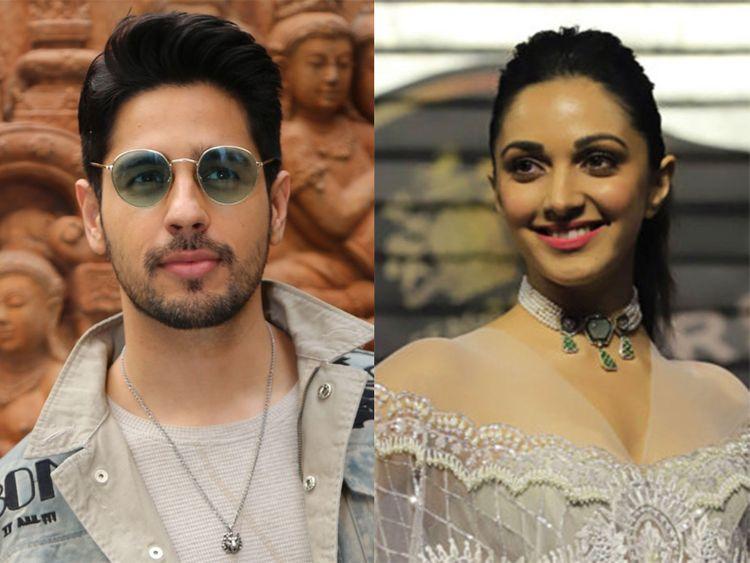 Actor Sidharth Malhotra and Kiara Advani-21212