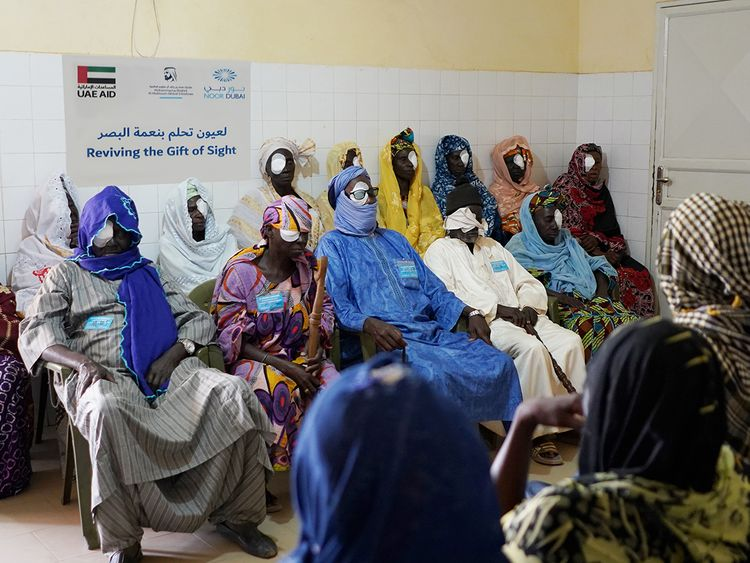 Dubai Health Authority Noor Dubai Foundation Senegal