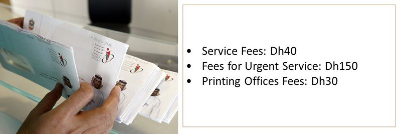 UAE visa medical fees