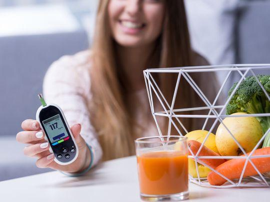 Dubai Health Authority diabetes thin