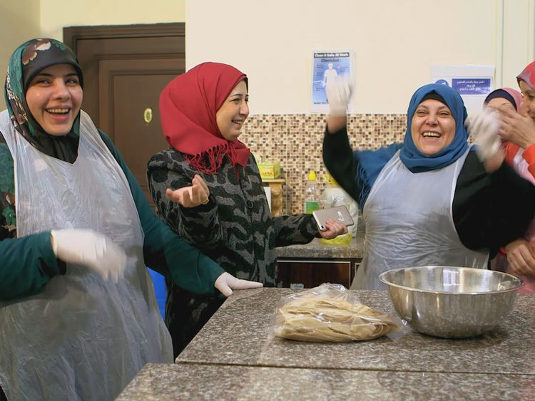 SOUFRA Film Still_Women In Kitchen Laughing-1578288072905