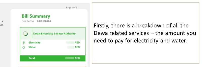 Understand your Dewa bill 13