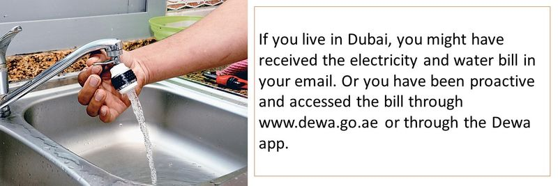 Understand your Dewa bill 1