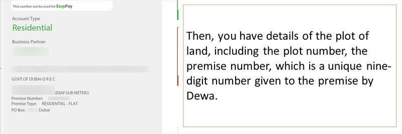 Understand your Dewa bill 9