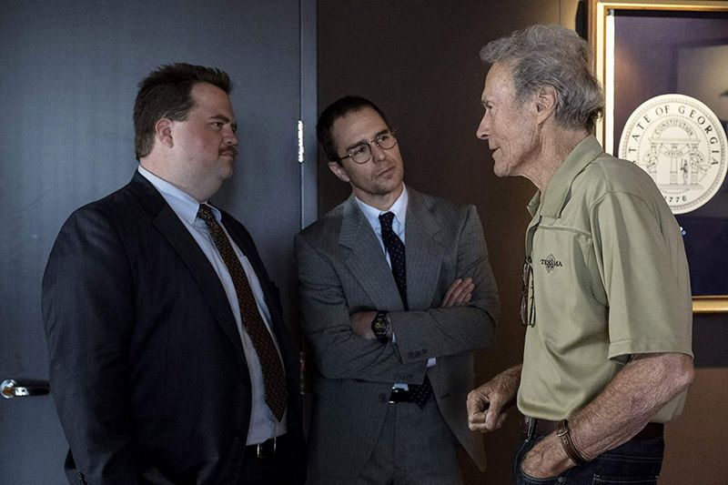 Clint Eastwood, Sam Rockwell, and Paul Walter Hauser in Richard Jewell 1111-1578476827466