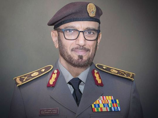 Major General Mohammad Ahmad Al Merri, Director General of the GDRFA in Dubai