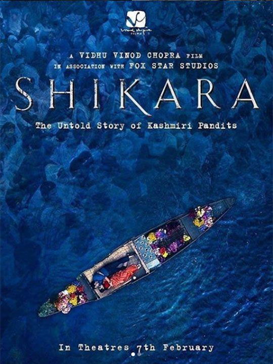 Posters of 'Shikara' are becoming increasingly viral on social media.