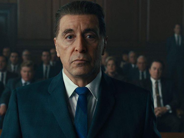 Robert De Niro, Al Pacino, and Jesse Plemons in The Irishman (2019)-1578469786889