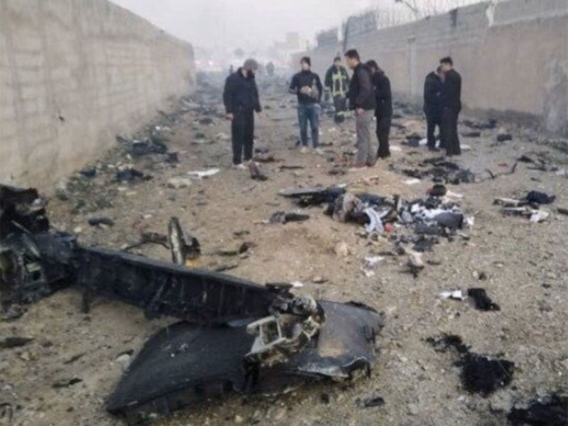 crash iran