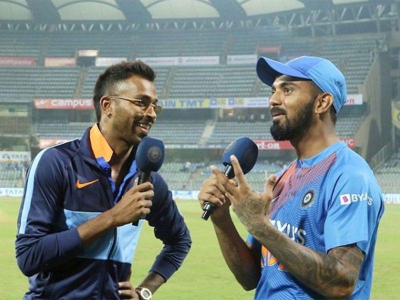 Hardik Pandya and K.L. Rahul