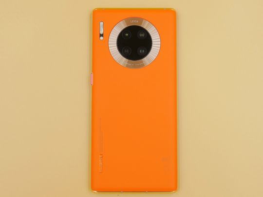 Huawei Mate 30 Pro Vegan Orange