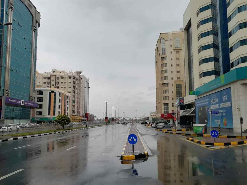 Rain in Sharjah