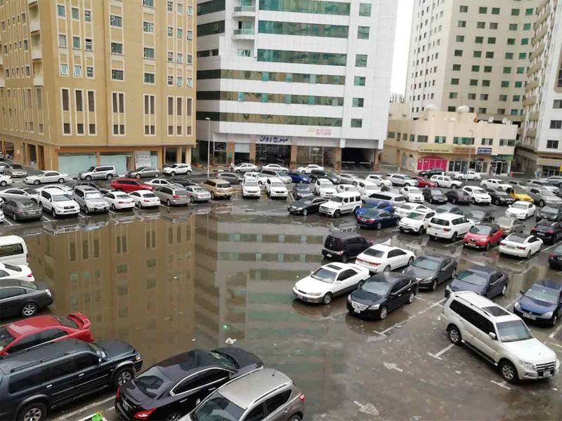 Sharjah rain