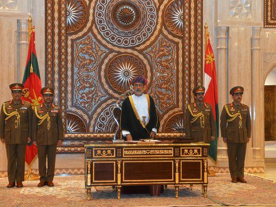 20200111_Sultan Haitham bin Tariq Al Said