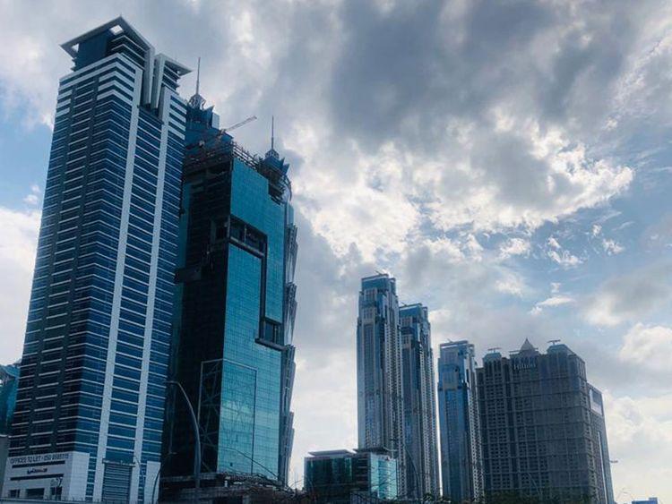 Overcast skies in Dubai on Saturday photo Evangeline