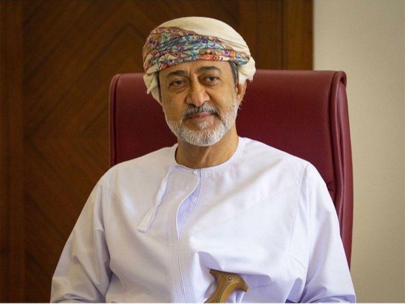 Sultan Haitham Bin Tariq Al Said, successor of Sultan Qaboos Bin Said.