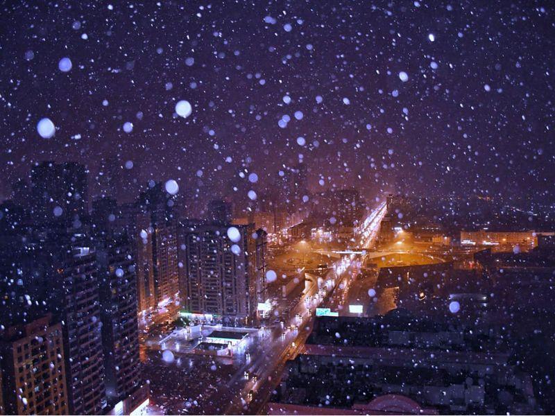 Hail in Sharjah