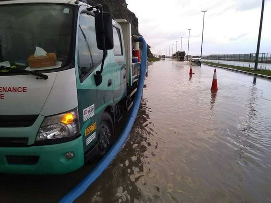 Ministry of Infrastructure deployed team to deal with rain