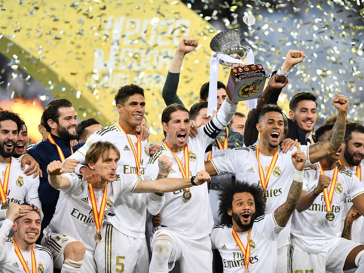 Spanish Super Cup: Real beat Atletico on penalties to win in ...