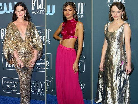 10 best-dressed celebs at the Critics Choice Awards