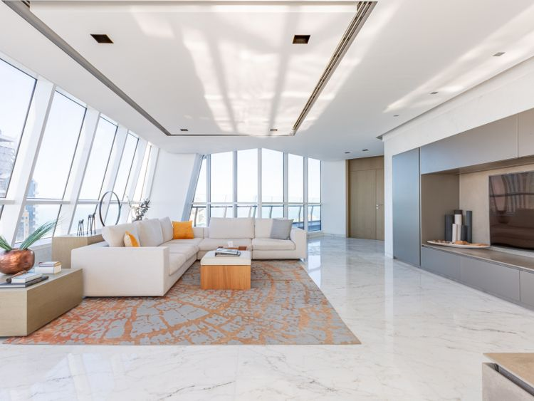 PW-200113_most expensive penthouse_The Penthouse is housed over the 88, 89 amd 90 floors of the 23 Marina-1578901147904