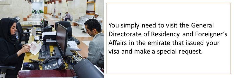 Renewing your UAE visa 4