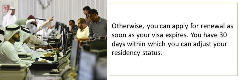 Renewing your UAE visa 5