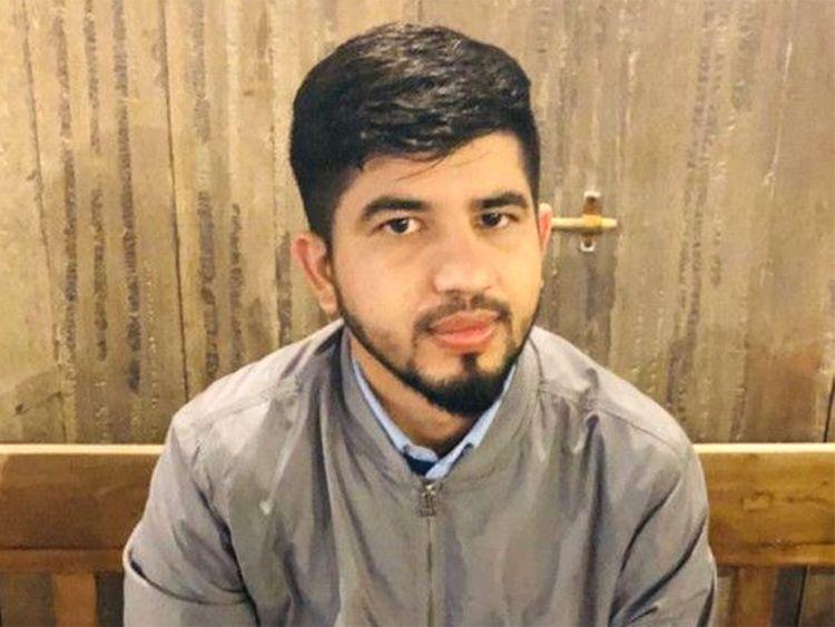 Taxi driver Modassar Khadim