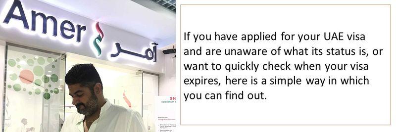 UAE visa validity 1