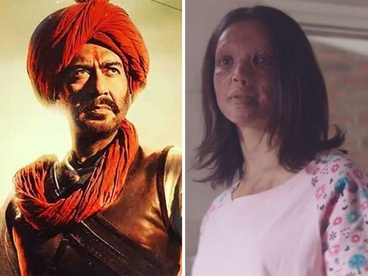 'Tanhaji' vs 'Chhapaak'