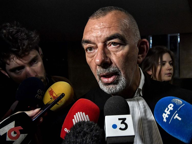 French lawyer Frederic Doyez