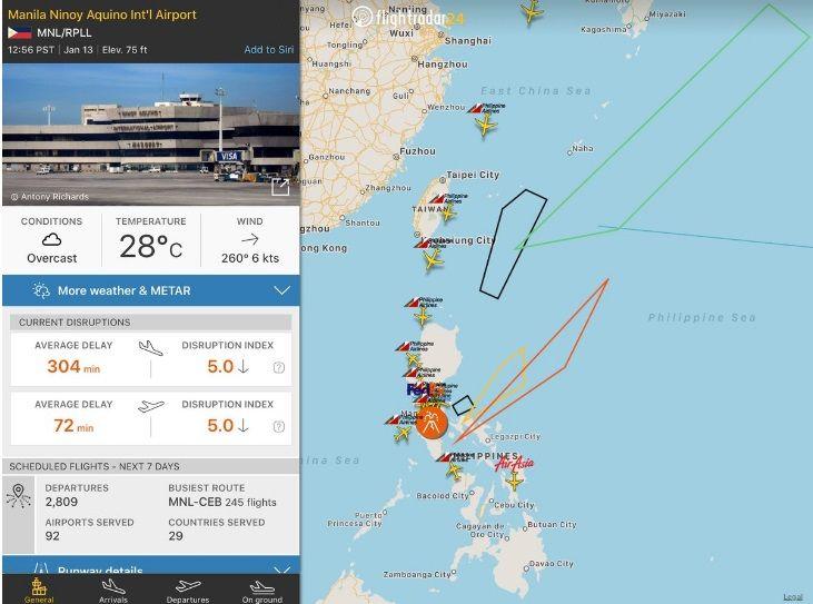 Manila flight ops