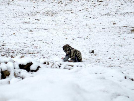 Snow in Pakistan