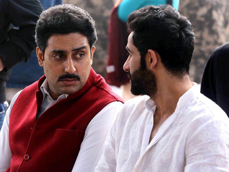 Abhishek Bachchan and Armaan Jain.
