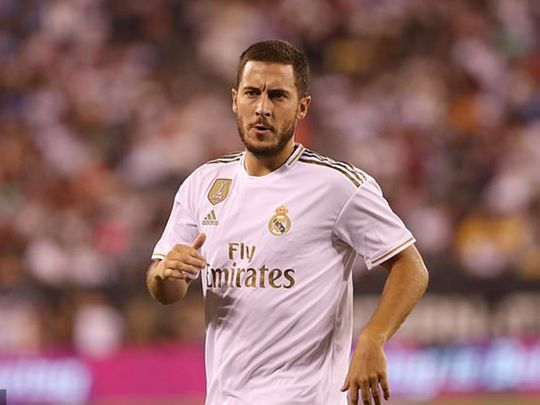 Eden Hazard turned up at Real Madrid overweight.