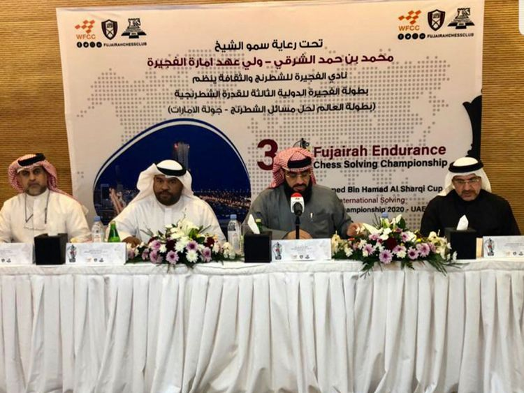 Fujairah Chess and Culture Club board of directors announce the staging of the World Solving Chess Composition Championship on January 25 and 26.