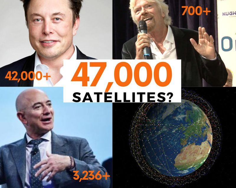 Musk, Bezos and Branson