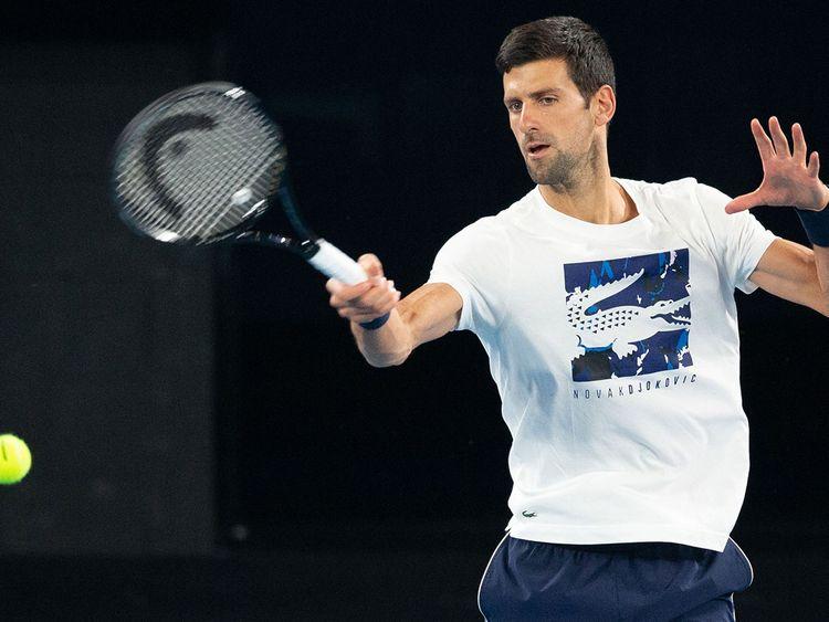 Novak Djokovic is returning to the Dubai Duty Free Tennis Championships.